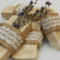 Hand made mother's milk soap