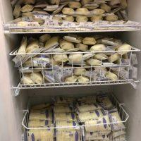 2,000+ oz of fatty fresh/frozen pumped breastmilk!