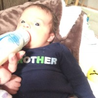 Healthy Breast Milk: makes healthy, chubby babies :)