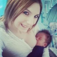 Mom of newborn with freezee full of milk!