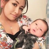 Japanese mom who eats healthy food- healthy breast milk!