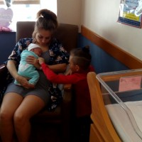 Breastmilk from a healthy Caucasian mother of two healthy children