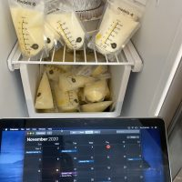 """""""LIQUID GOLD"""" - 28 year old with 200+ oz of frozen, (0-3 week) NEW BORN breast milk"""