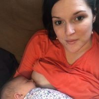 Fresh breast milk from a 29 year old mother of 3