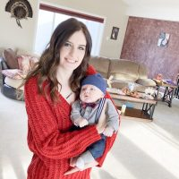 Healthy Mom and baby with oversupply of breast milk