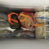 Frozen breast milk