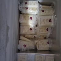 Over supply frozen breast milk. Healthy, drug free, alcohol free, and  disease free.