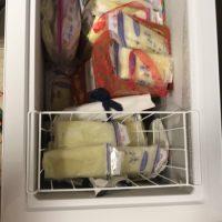 Frozen breastmilk over 100 oz