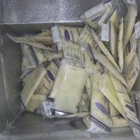 350oz bulk breast milk from deep freezer