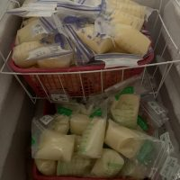 Frozen Breastmilk from healthy mom and baby boy.  Disease, Drug and Alcohol free lifestyle.
