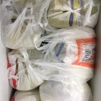 Overabundance of milk supply to sell